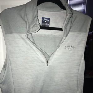 Men Callaway 1/4 Zip Vest Small